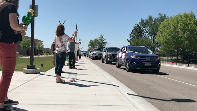 Teacher Appreciation Parade at St. Ignatius Catholic School in Meridian, Idaho